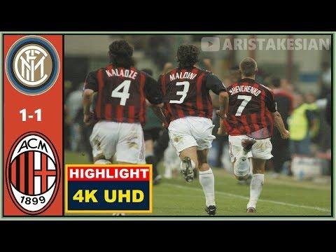 Inter Milan v AC Milan: 1-1 (Agg: 1-1a) #UCL 2003 SEMI-FINAL FLASHBACK – 4K UHD