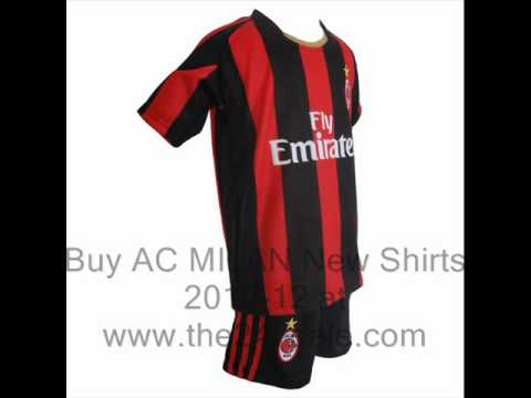 AC Milan New 2010-12 Football Shirts