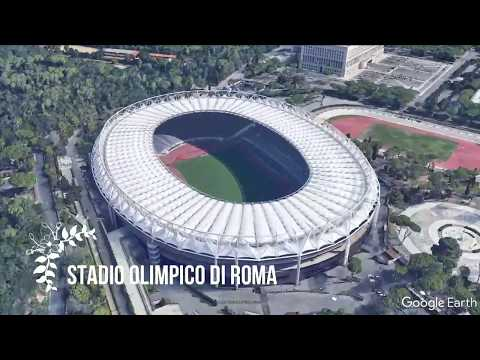 Italy Serie A Football stadium of 5 popular teams #SerieA  #Juventus #ACMilan #InterMilan #ASRome