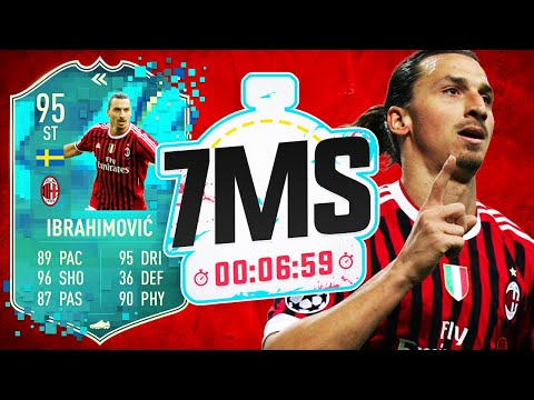 WHAT A BEAST! AC MILAN ZLATAN IBRAHIMOVIC!!! 7 MINUTE SQUAD BUILDER!! – FIFA 20 ULTIMATE TEAM