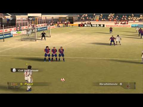 Fifa 07   2012 squads   AC Milan vs Barcelona
