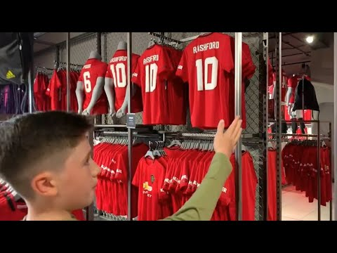 Manchester United Megastore and Shirt Printing Tour | 06.07.2019