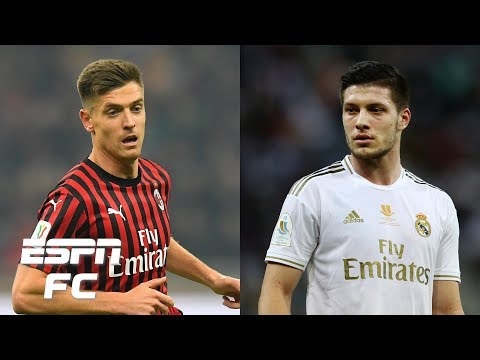 Who's the better striker: AC Milan's Krzysztof Piatek or Real Madrid's Luka Jovic? | Extra Time