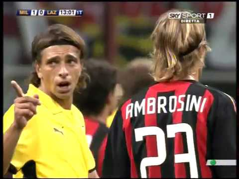 2008-09-21 Milan vs Lazio 4-1 (FULL MATCH) Serie A