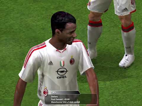 FIFA 2005-A.C MILAN 4-3 MANCHESTER UNITED