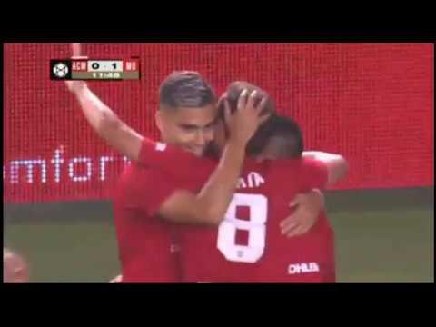 AC Milan VS Manchester United 0-1 SANCHEZ GOAL 26/07/18