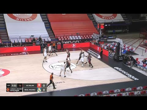 EuroLeague – 03/03/2020 AX Milan vs Real Madrid – FULL MATCH – HD
