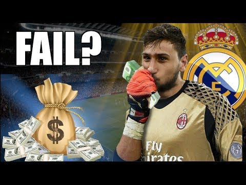 HERE'S HOW MUCH AC MILAN WIL MAKE SELLING DONNARUMMA TO REAL MADRID | SERIE A TRANSFER NEWS