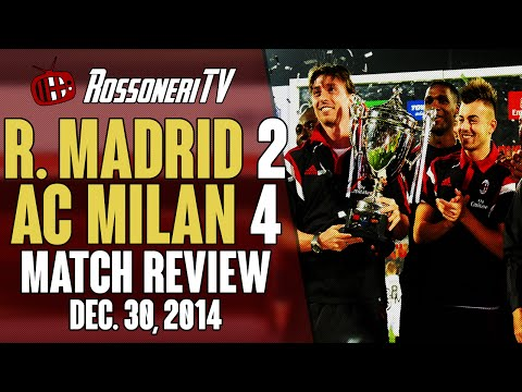 Real Madrid 2 AC Milan 4 | MATCH REVIEW | Rossoneri TV