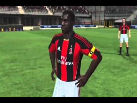 FIFA 11  **A.C. Milan Player Faces**