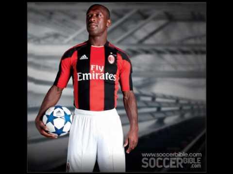 "New Ac Milan Uniform Home ""2010/2011"""