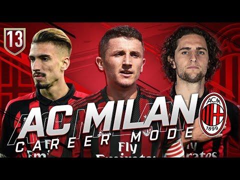 FIFA 19 AC MILAN CAREER MODE #13 – EPIC DERBY DELLA MADONNINA!!!