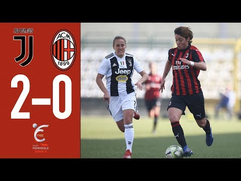 Highlights Juventus 2-0 AC Milan – Matchday 17 Women's Serie A 2018/19