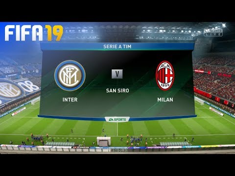 FIFA 19 – Internazionale vs. AC Milan @ San Siro