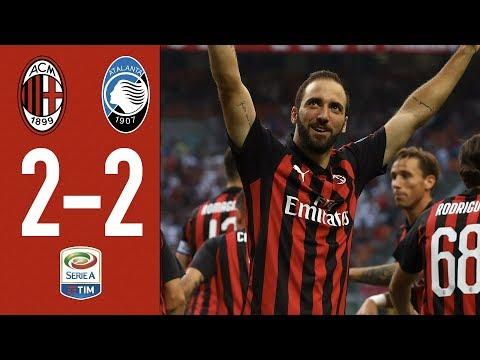 AC Milan 2-2 Atalanta – Highlights – Matchday 4 Serie A 2018/2019