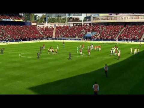 FIFA 18 | Legendary | Friendly | Milan v Manchester Utd | StubHub Center