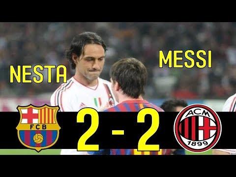 The Day Messi Met New Boss(Nesta) : 11-12 Champions League Barcelona vs AC Milan