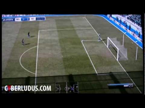 FIFA 12 Gameplay HD – Gamescom – AC Milan vs Manchester City