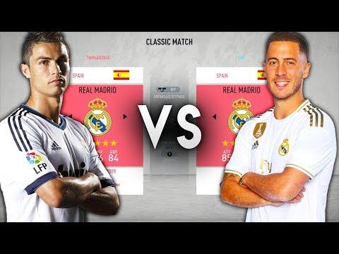 2020 Real Madrid VS 2010 Real Madrid – FIFA 20 Experiment