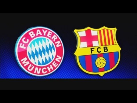 Bayern Munich vs FC Barcelona  All Goals Highlights 23.04.2013