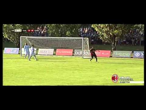 Highlights AC Milan vs. Derthona 17-08-2013