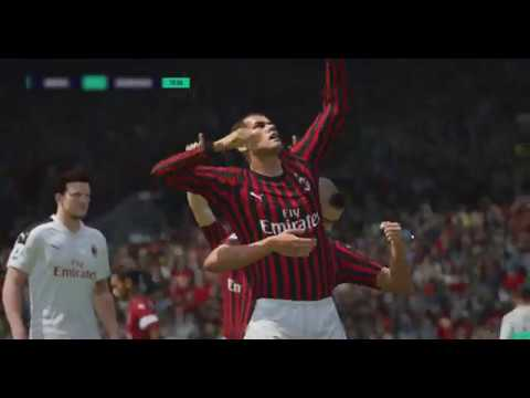 [FIFA_ONLINE 4] AC Milan 5 goals highlight