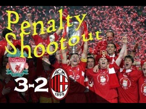 Milan vs Liverpool || UCL Final 2005 || Penalty Shootout