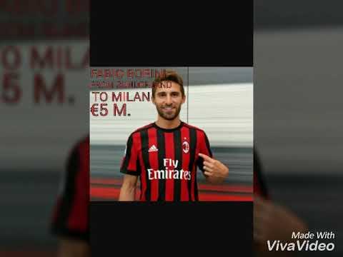 AC MILAN Summer Transfers 2017