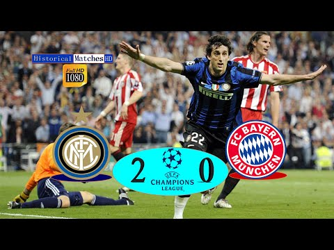 UCL (Final 2010) || Inter Milan Vs Bayern Munich |2/0 | Hightlights & Goals Arabic Commentry Full HD