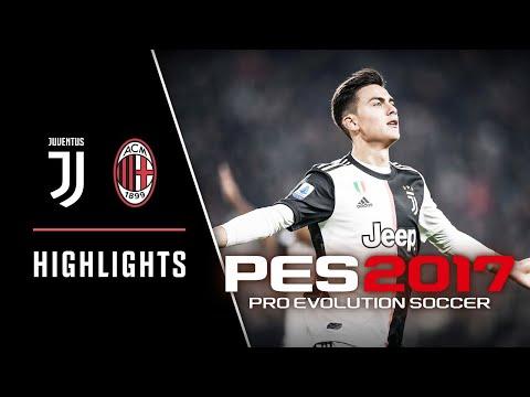 PES 2017 NSP Juventus vs AC Milan With New Transfers 2020