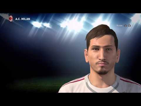 PES 2016 – Gianluigi Donnarumma face [ AC Milan ]