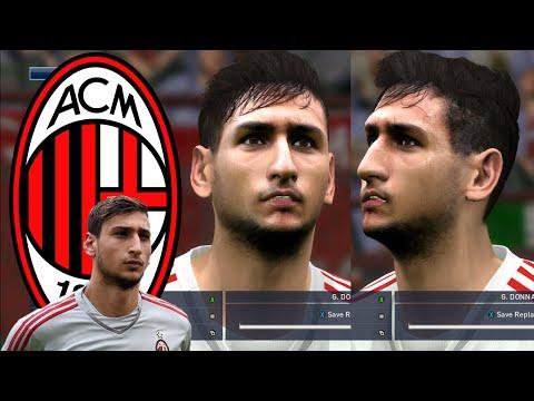 PES 2016 FACE Gianluigi Donnarumma – AC Milan (download)