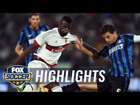 AC Milan vs. Inter Milan – 2015 International Champions Cup Highlights