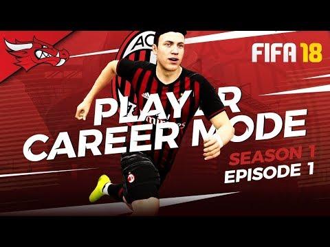 NEW SEASON AHEAD | FIFA 18 AC Milan Player Career Mode – EP01 S1