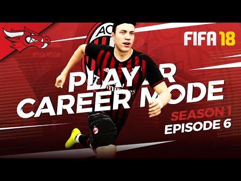MILAN DERBY BLOW 🌬️| FIFA 18 AC Milan Player Career Mode – EP06 S1