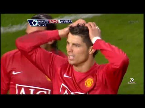 Manchester United 4-0 Aston Villa – 2007/2008