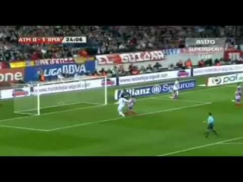 Atletico Madrid 2-3 Real Madrid  La Liga BBVA 2009/2010 All goals