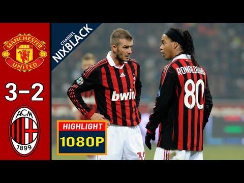 Manchester United 3-2 AC Milan 2010 Champions League All goals & Highlights FHD/1080P