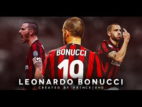 Leonardo Bonucci – AC Milan – Defensive Skills, Tackles & Passes – 2018 – HD