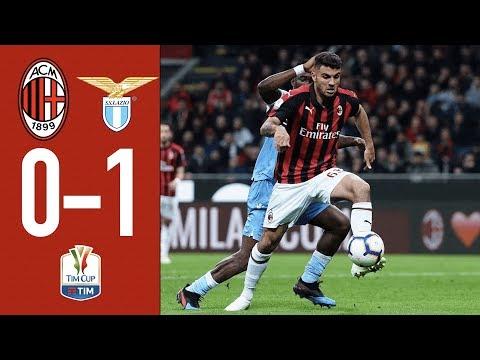 Highlights AC Milan 0-1 Lazio – TIM Cup semi-final second leg 2018/19