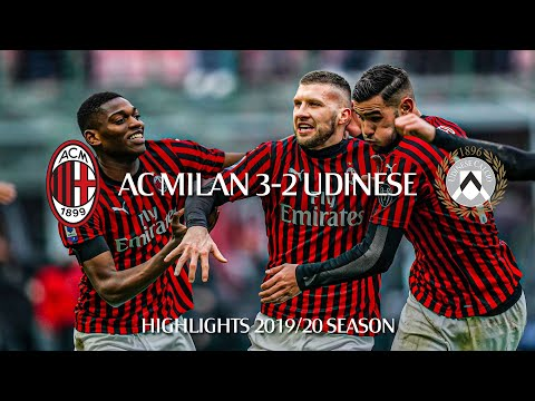 Highlights | AC Milan 3-2 Udinese | Matchday 20 Serie A TIM 2019/20
