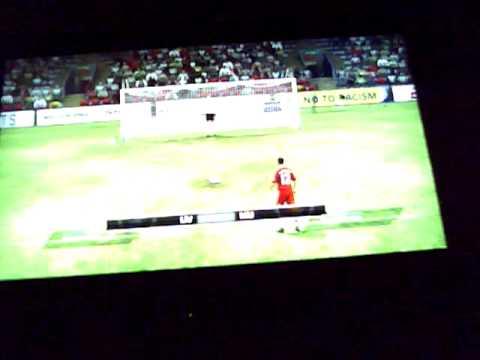 Fifa 10 Liverpool Vs. Man Utd Penalty shootout :D
