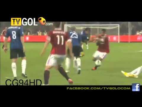 AC Milan Vs Inter Milan (2-1) All Goals  Full Match Highlights 06/08/2011 Supercopa