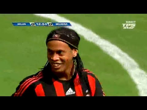 A Estréia de Ronaldinho Gaúcho no AC Milan! ? Ronaldinho vs Bologna FC 2008/09 – By PedroPaulo10i