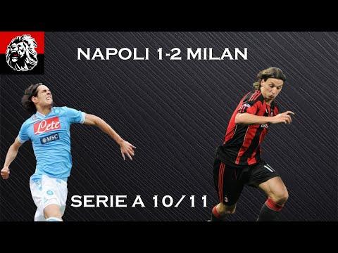 NAPOLI-MILAN 1-2 25/10/2010 HIGHLIGHTS