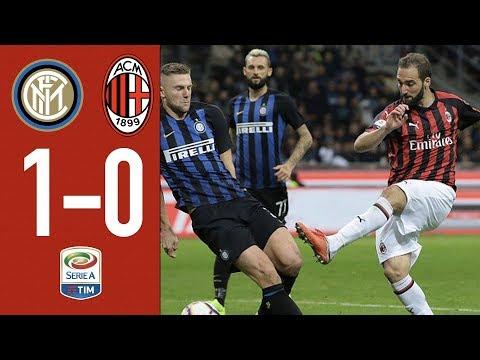Inter 1-0 AC Milan – Highlights – Matchday 10 Serie A TIM 2018/19