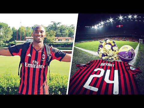AC Milan's heartbreaking tribute to Kobe Bryant | Oh My Goal