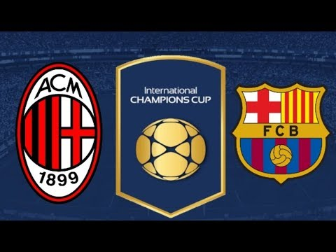 AC Milan vs Barcelona – Highlights & All Goals – International Champions Cup 2018