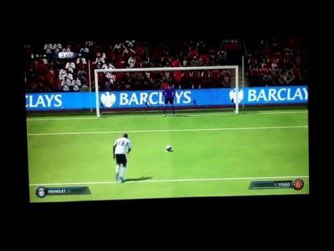 Liverpool vs Man U penalty shootout