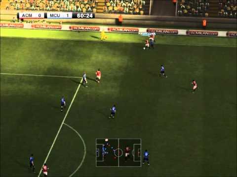 Demo PES 2012 / AC Milan VS Manchester United